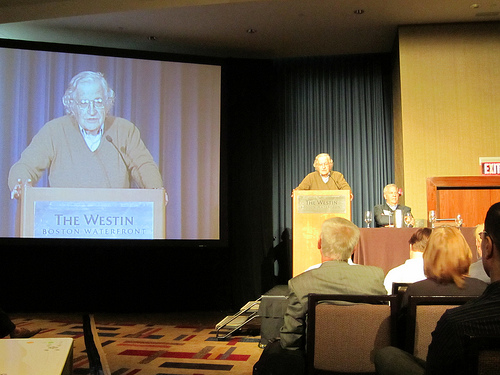Noam Chomsky at ICA 2011
