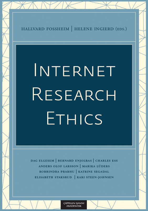 Internet Research Ethics - book cover